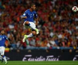 Leonardo Spinazzola ne disputera pas la phase de groupes. AFP