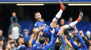 Gary Cahill has given an interview during the coronavirus break. AFP
