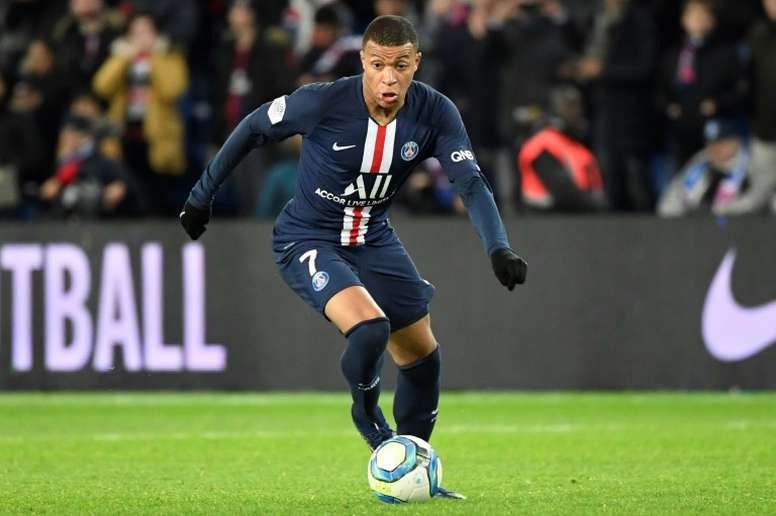 Mbappe will not decide on his future until towards the end of this season. AFP
