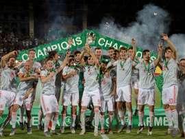 L'Espagne remporte le championnat dEurope des moins de 19 ans. AFP