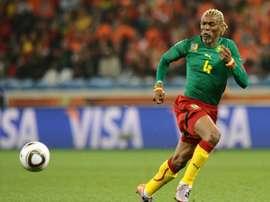 Le Camerounais Rigobert Song en quarantaine. QFP