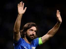 De Maestro à Mister, la Juventus tente le pari Pirlo. afp