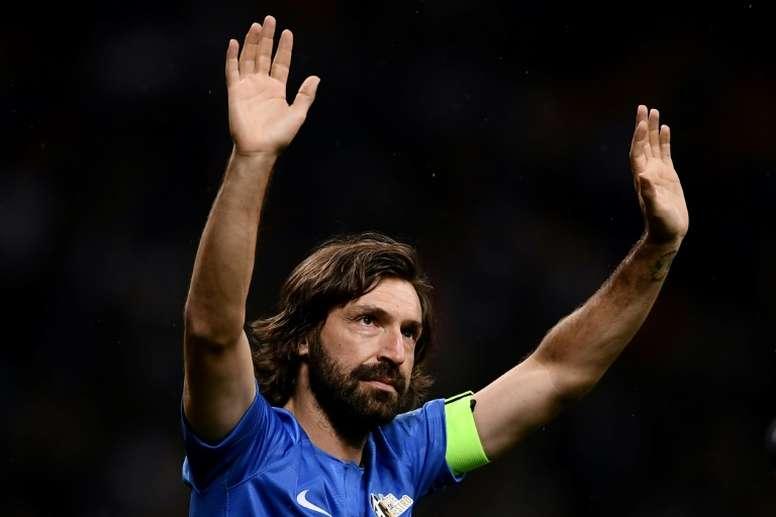 Pirlo habló como entrenador del Sub 23 de la Juventus. AFP