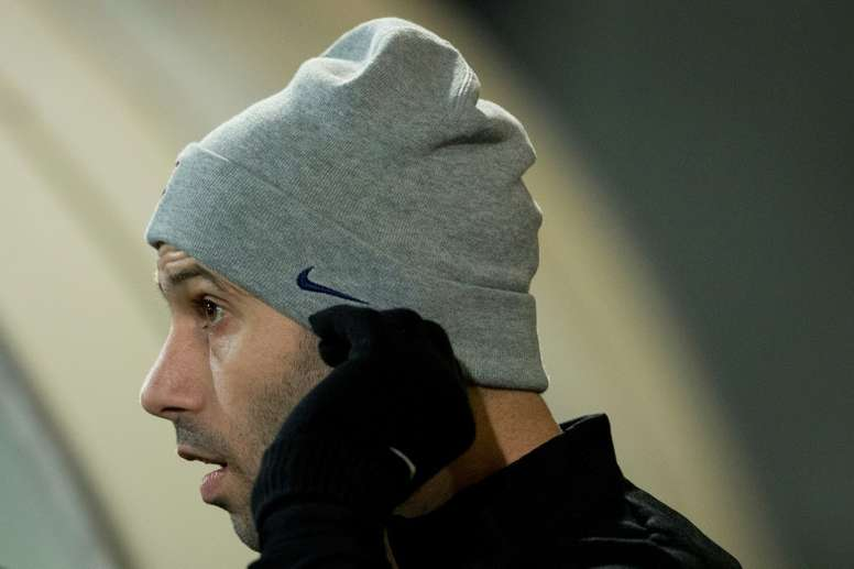 Aventura de Mascherano no Barça perto de terminar. AFP