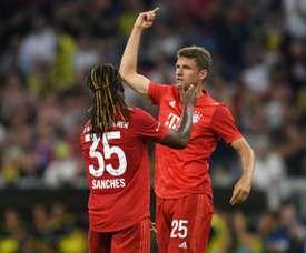 Le Bayern et Müller déjà en forme. AFP