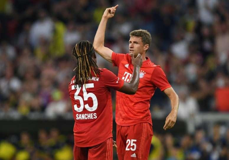 Müller podría abandonar el Bayern antes de lo pensado. AFP