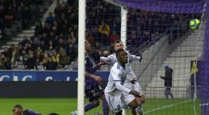 Polêmica no futebol francês. AFP