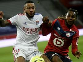 Memphis Depay could help alleviate some of Barca's injury worries. AFP