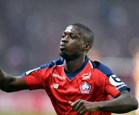 Nicolas Pepe will be a Man Utd player very soon. AFP