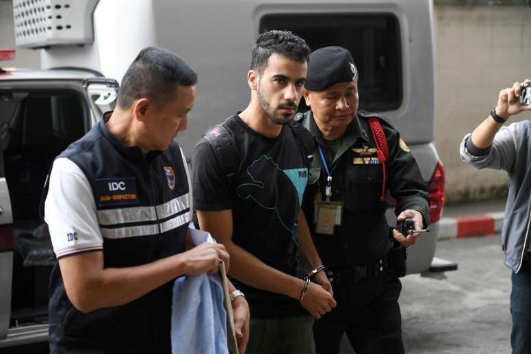 Ordenan la puesta en libertad de Alaraibi. AFP