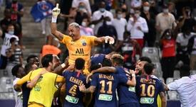 El inicio de la Ligue 1 se ve amenazado por el coronavirus. AFP