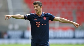 Lewandowski is after the Champions League. AFP