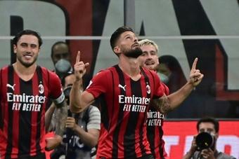 Il Milan travolge il Cagliari. AFP