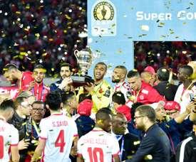 El Wydad se llevó el título tras vencer al TP Mazembe. AFP