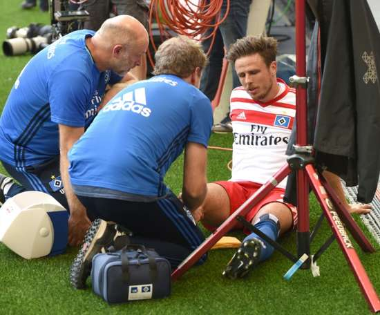 So stupid - Muller rues knee injury. AFO