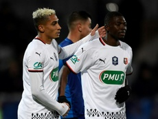 Rennes facile à l'Athlético Marseille. AFP