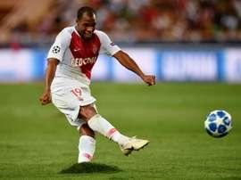 Le défenseur de Monaco Djibril Sidibé. AFP