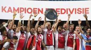 L'Eredivisie de retour le 19 juin. AFP