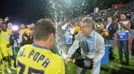 Gigi Becali menospreció a su rival de la peor manera. AFP