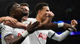 Retour renversant pour Mourinho avec Tottenham qui file en huitième. AFP