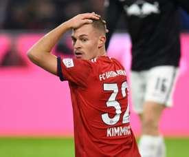 Kimmich ne voit pas le Bayern favori. AFP