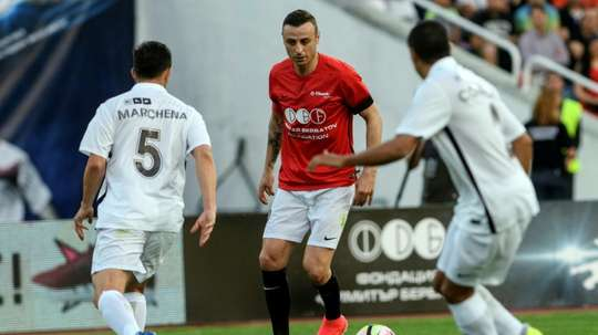 Berbatov has joined the Kerala Blasters on a one-year deal. AFP