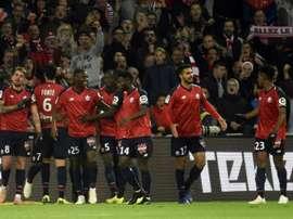 Lille reçoit Reims. AFP