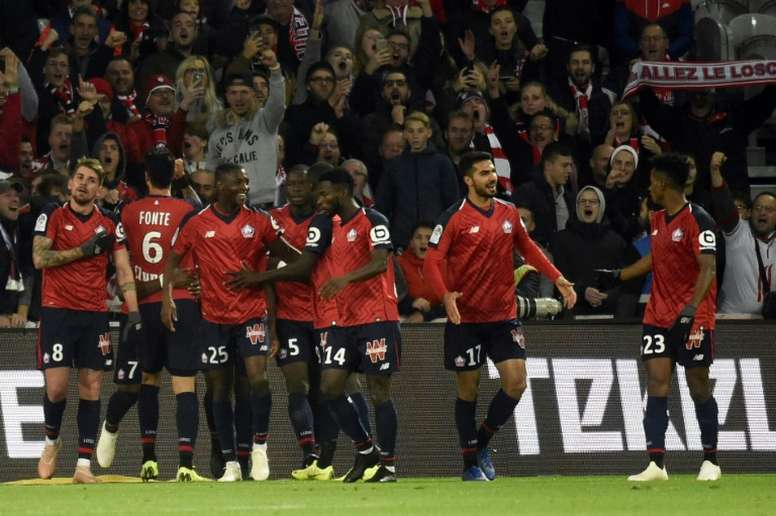 El Lille seguirá segundo una semana más. AFP/Archivo