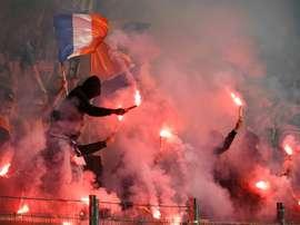 La Ligue 1 cierrap parcialmente el estadio del Montpellier. AFP