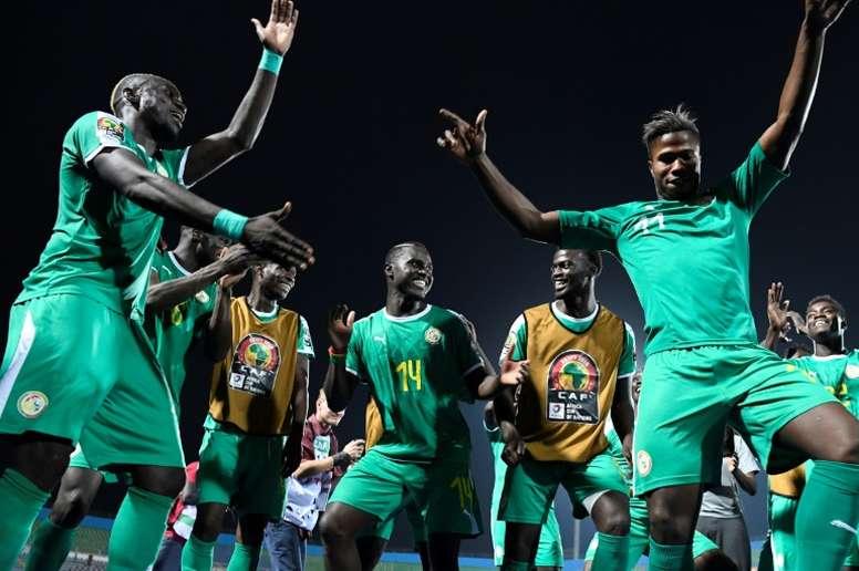 Le Sénégal en finale, 19 ans après. AFP