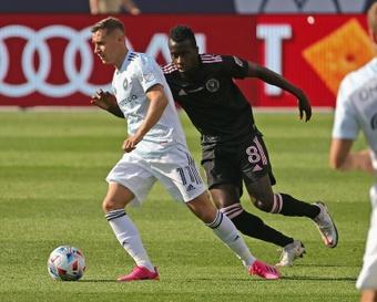 DC United golea a Inter Miami. AFP