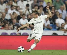 Modric has spoken out. AFP