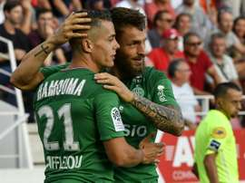 Les compos probables du match d'Europa League entre la Gantoise et Saint-Étienne. AFP
