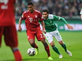 El Bayern supo aguantar el resultado. AFP