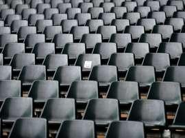 Un public virtuel pour la reprise à huis clos du championnat au Danemark. AFP