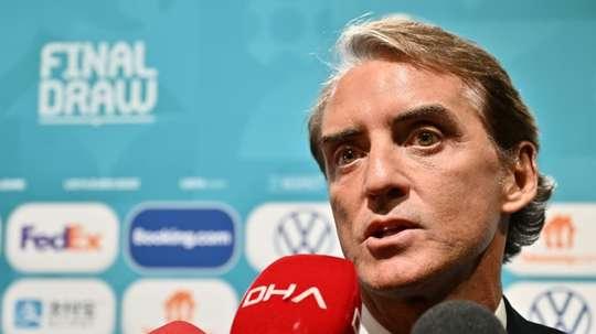 Roberto Mancini y croit pour l'Atalanta face au PSG. afp