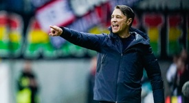 Kovac was at the game. AFP