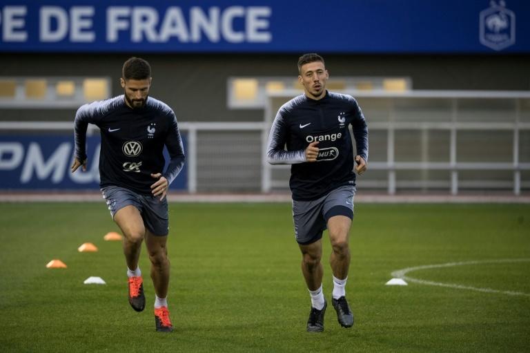 Griezmann ironise sur le cas Giroud — France-Turquie