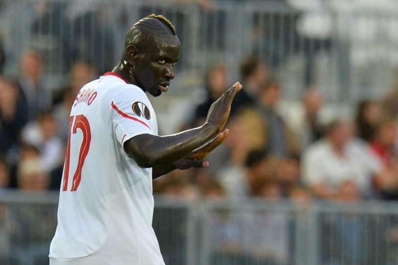 Mamadou Sakho podría vestir la camiseta del Southampton la próxima temporada. AFP