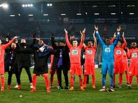 Caen garante lugar na semifinal. AFP