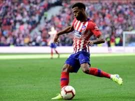Lemar ne quittera pas l'Atletico. AFP
