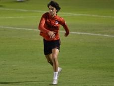 Joao Félix souffrant, une semaine avant Liverpool. AFP