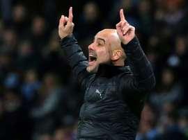 Guardiola a confirmé les négociations. AFP