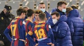 Supercoupe d'Espagne: le Barça a soif de titre, avec ou sans Messi. AFP