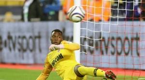 Loïc Badiashile file en Espagne. AFP