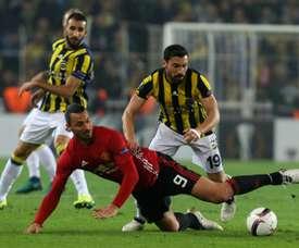 El conjunto turco consiguió doblegar a los ucranianos. AFP