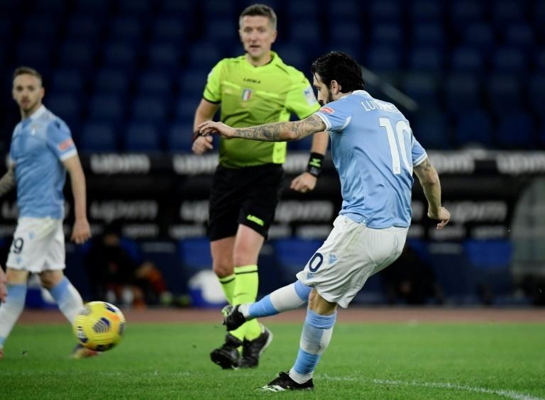 Luis Alberto, en un partido con la Lazio