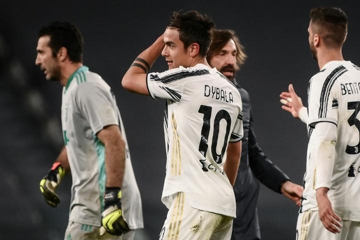 Nouveau désaccord entre la Juve et Dybala. AFP