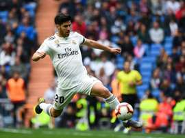 Marco Asensio netted his first Real Madrid goal in 2016. AFP