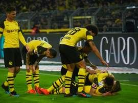 Dortmund reçoit Brême. AFP